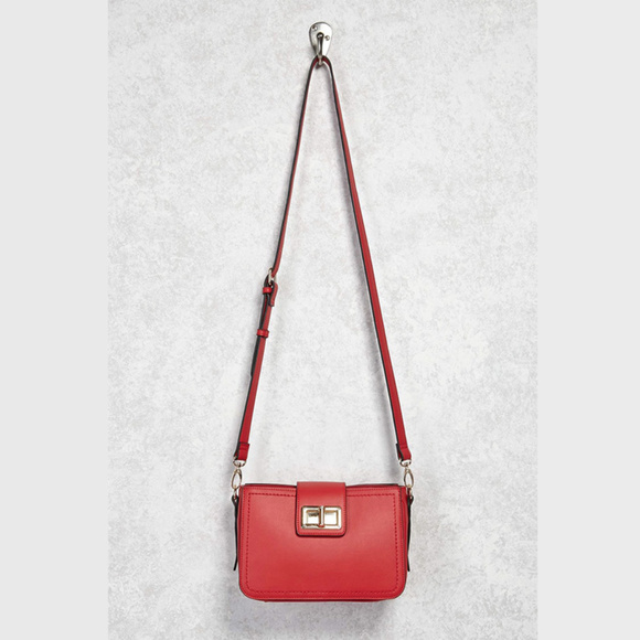 038132be0ed0 Bags | New With Tag Faux Leather Turnlock Crossbody | Poshmark